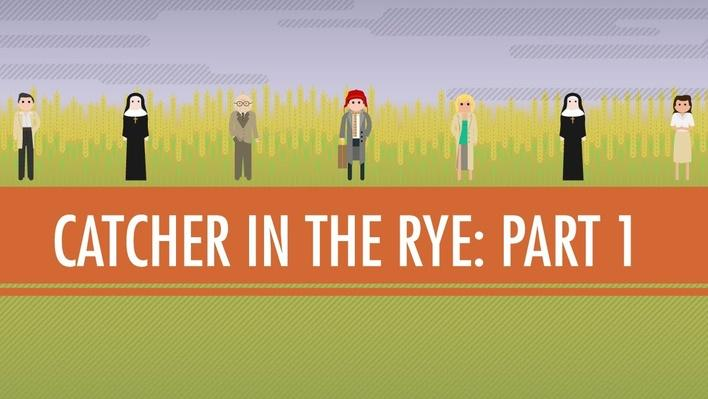 The Catcher in the Rye Part 1 | Crash Course English Literature #106