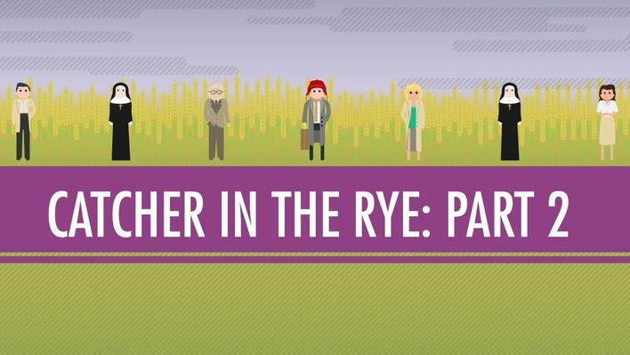 The Catcher in the Rye Part 2 | Crash Course English Literature #107