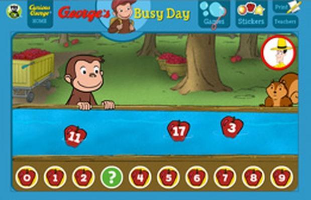 Cosecha manzanas - Curious George | PBS KIDS Lab