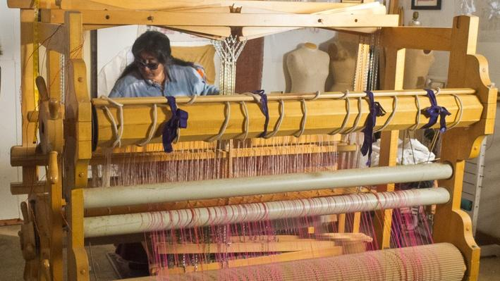 Consuelo Jimenez Underwood at the Loom | Craft in America
