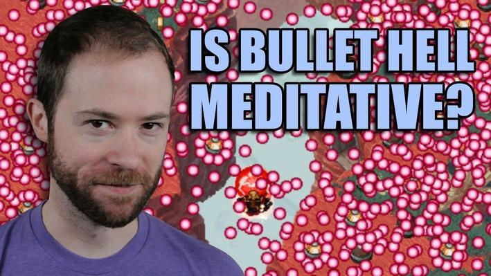 Can Bullet Hell Games Be Meditative? | PBS Idea Channel