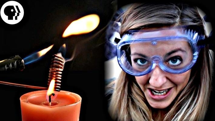 Five Weird Ways to Put Out a Candle   Physics Girl