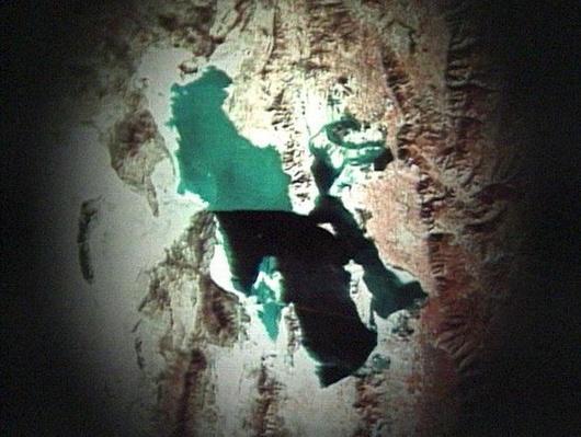 Satellite Photo of Great Salt Lake | Images of Utah