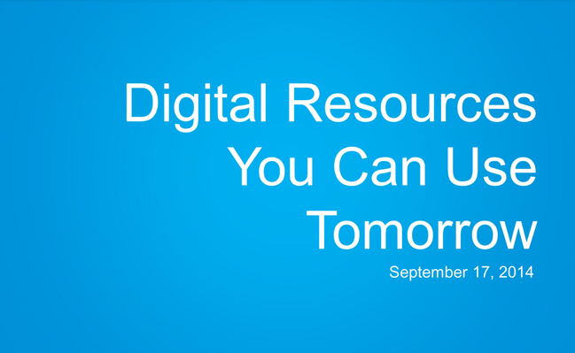 Transform Your Classroom: Digital Resources You Can Use Tomorrow