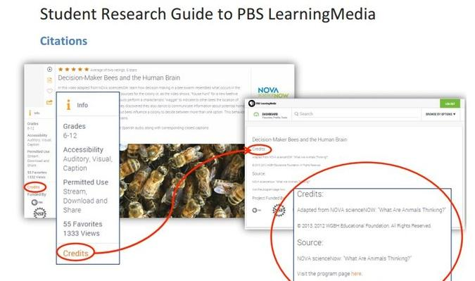 Student Research Guide to PBS LearningMedia