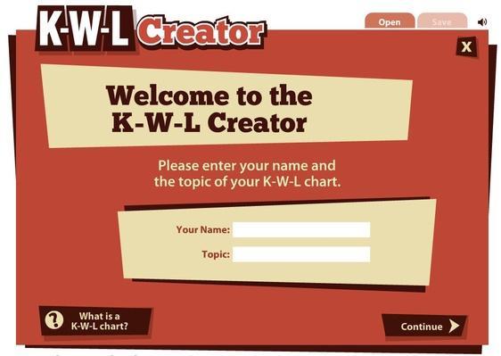 K-W-L Creator