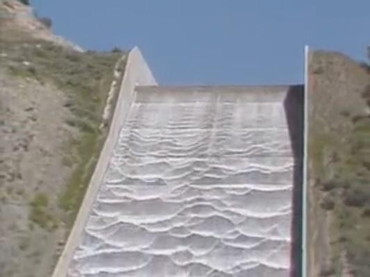 Water: Rockport Reservoir Spillway   Images of Utah