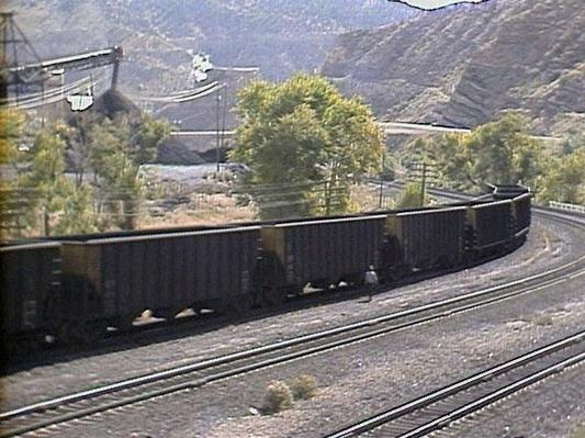 Contemporary Mining and Energy Resources: Carbonville Coal Train | Images of Utah