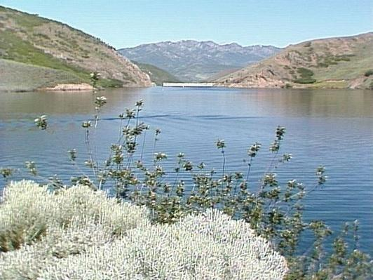 Water: East Canyon Reservoir and Dam | Images of Utah