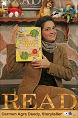 "Carmen Agra Deedy - ""The Library Dragon"" (Espanol Subs) | Georgia Read More"