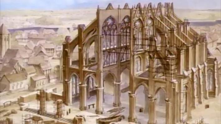David Macaulay: Cathedrals | Beaulieu Gets a New Cathedral