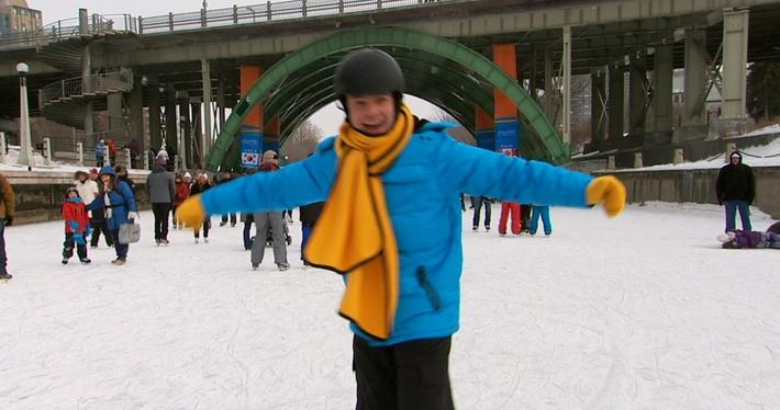 C'est l'hiver : Le patinage | Les saisons de Mini