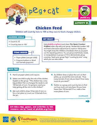 Chicken Feed | Peg + Cat