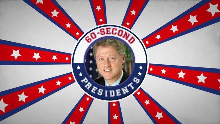 Bill Clinton   60-Second Presidents
