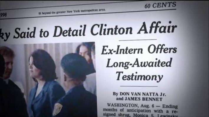 The American Experience: Clinton, Part 2--Clinton Admits to the Affair