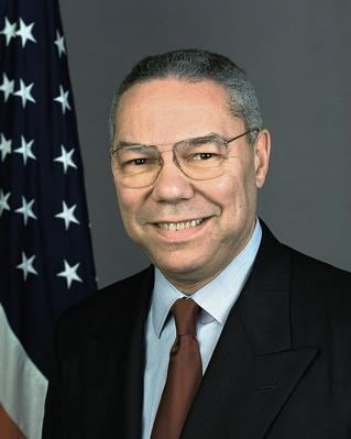 Secretary of State: Colin Powell