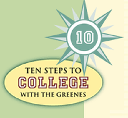 Step One: Plan Your Finances, Now! | Ten Steps to College with the Greenes