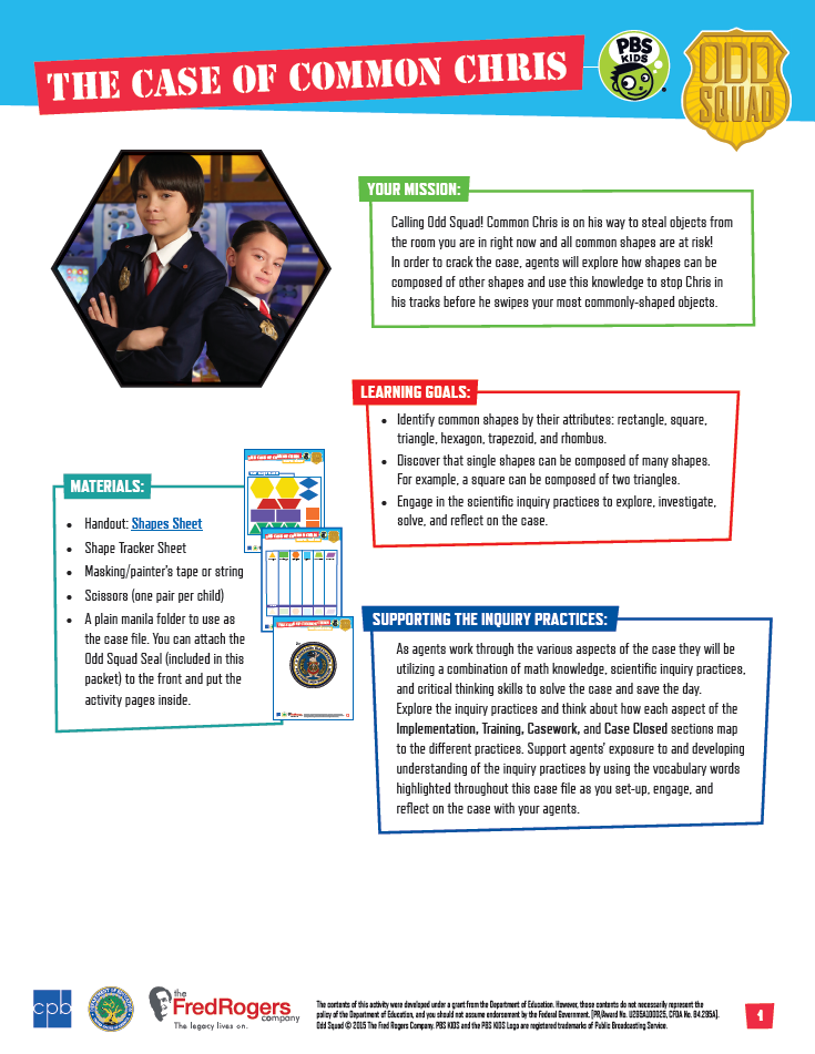 picture regarding Odd Squad Badge Printable named Working day 1 - Bizarre Squad Be the Representative Camp PBS LearningMedia