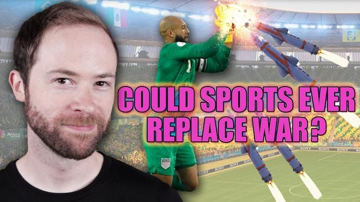 Could Sports Ever Replace War? | PBS Idea Channel