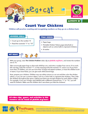 Count Your Chickens | Peg + Cat