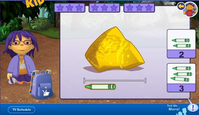 PBS Crystal Rule Game Screen shot