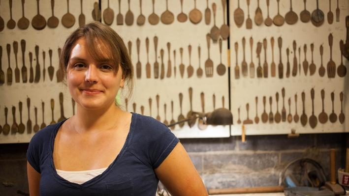Chloe Darke: Function and Expression in Metalsmithing | Craft in America