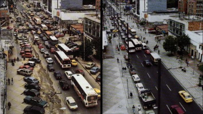 e2 Design: Bogota--Building a Sustainable City | Creating Pedestrian Spaces