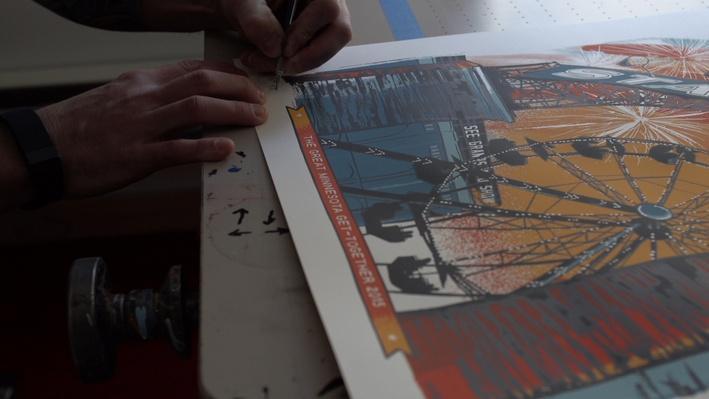 MN State Fair Commemorative Art Video