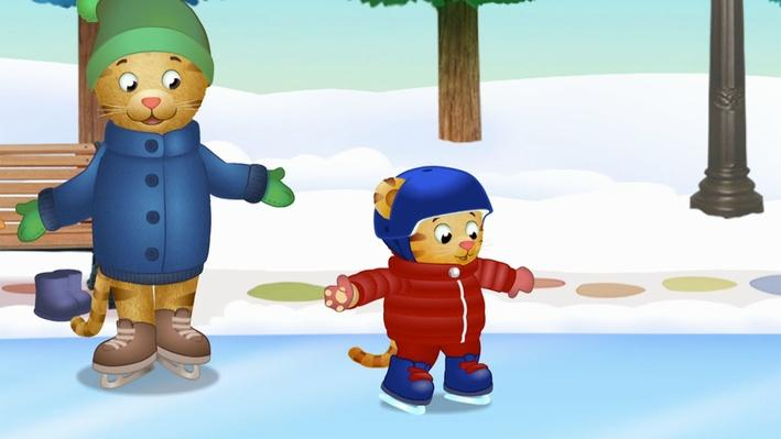 Daniel Ice Skates | Daniel Tiger's Neighborhood