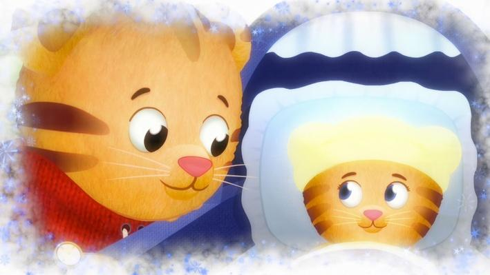 Daniel Loves his Baby Sister | Daniel Tiger's Neighborhood