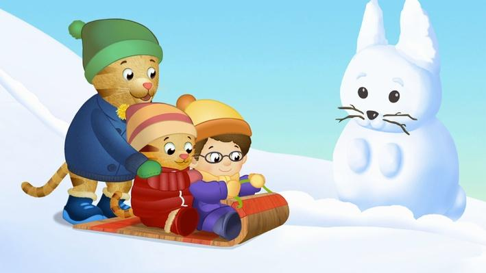 Daniel Sleds Down the Big Hill | Daniel Tiger's Neighborhood