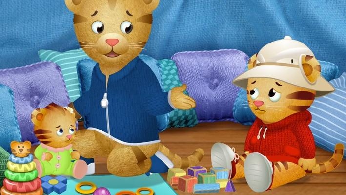 Daniel Wants to Play with Dad | Daniel Tiger's Neighborhood