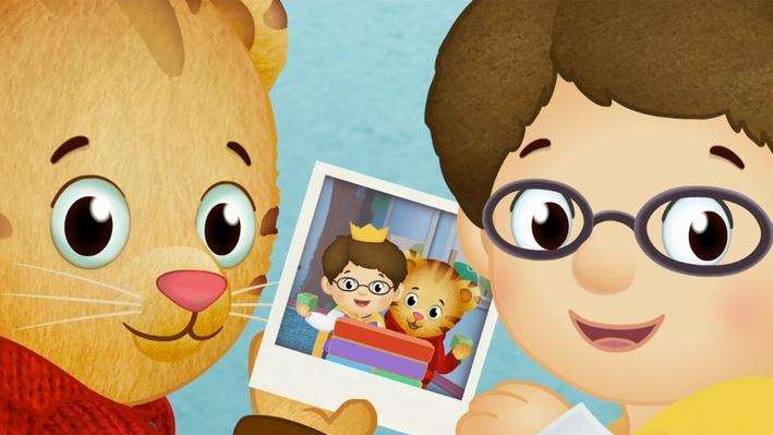 Daniel and Prince Wednesday - Different and the Same | Daniel Tiger's Neighborhood