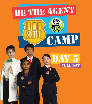 All Day 5 Materials - Odd Squad | Be the Agent Camp
