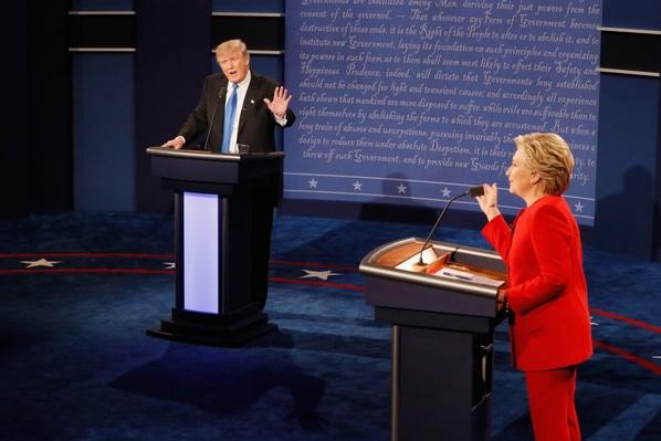 Trump and Clinton on Race and Police in First Presidential Debate | PBS NewsHour