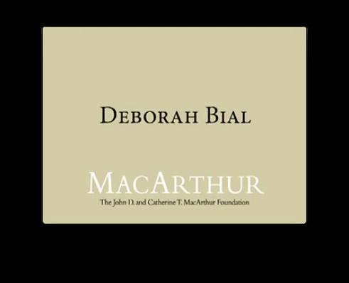 Deborah Bial, Education Strategist | MacArthur Fellows Program