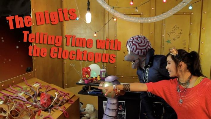 Telling Time with Clocktopus | The Digits