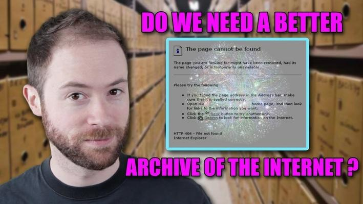 Do We Need a Better Archive of the Internet? | PBS Idea Channel
