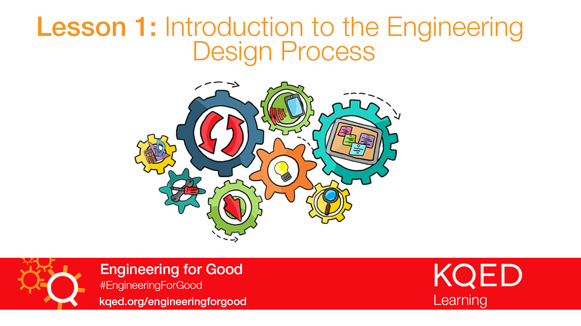 Introduction To The Engineering Design Process Engineering For Good Pbs Learningmedia