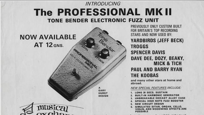 The Development of the Fuzz Tone | Soundbreaking