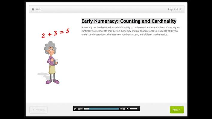 Early Numeracy: Counting and Cardinality