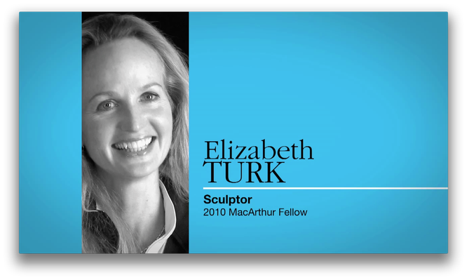 Elizabeth Turk, Sculptor | MacArthur Fellows Program