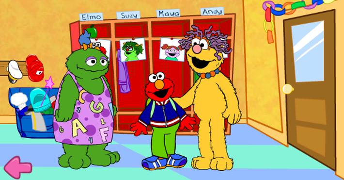 Elmo's First Day of School   Sesame Street