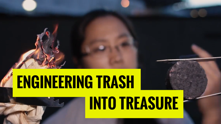 Engineering Trash into Treasure | MIT's Science Out Loud
