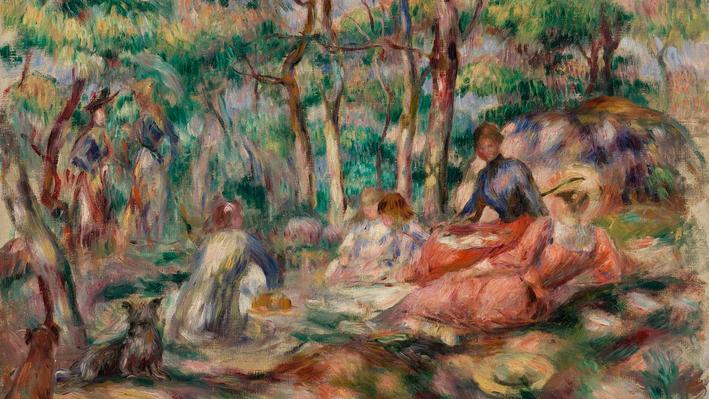 Picnic (Le Déjeuner sur l'herbe), Pierre-Auguste Renoir