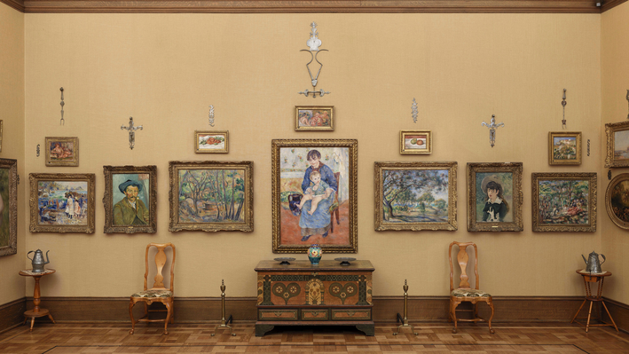 Gallery 13, North Wall, Barnes Foundation
