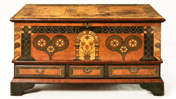 Chest over Drawers, attributed to John Bieber