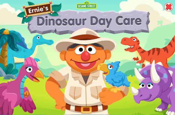 Ernie's Dinosaur Day Care | Sesame Street