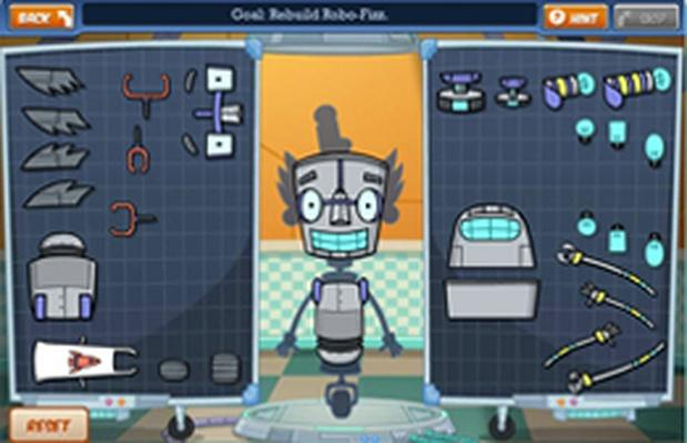 Escape from Greasy World Level 1: Robo Rebuild - Fizzy's Lunch Lab | PBS KIDS Lab