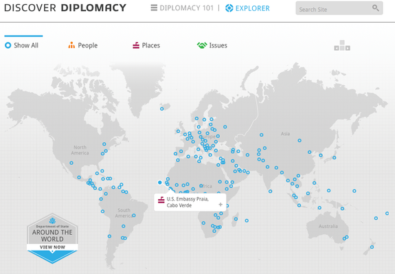 Discover Diplomacy Explorer